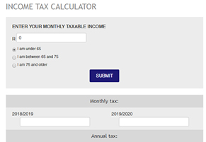 Income Tax Calculator | My Calculators